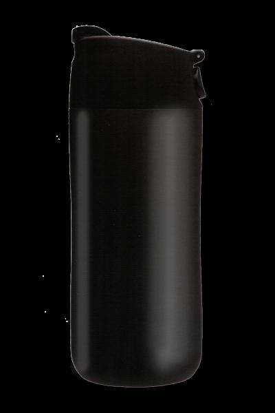Flip & Sip Vakuum Edelstahlbecher 0,35 Liter, schwarz