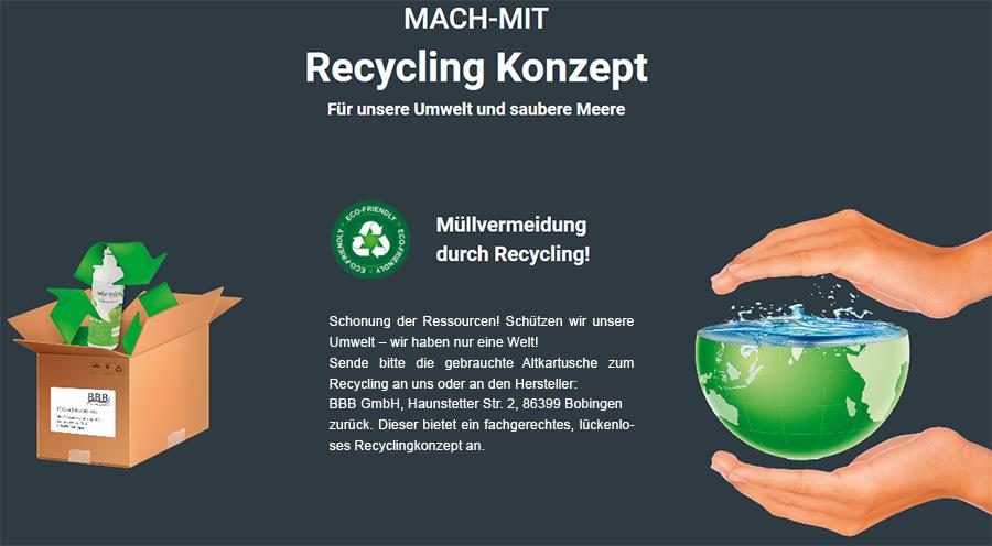 Das WiV Recycling-Konzept