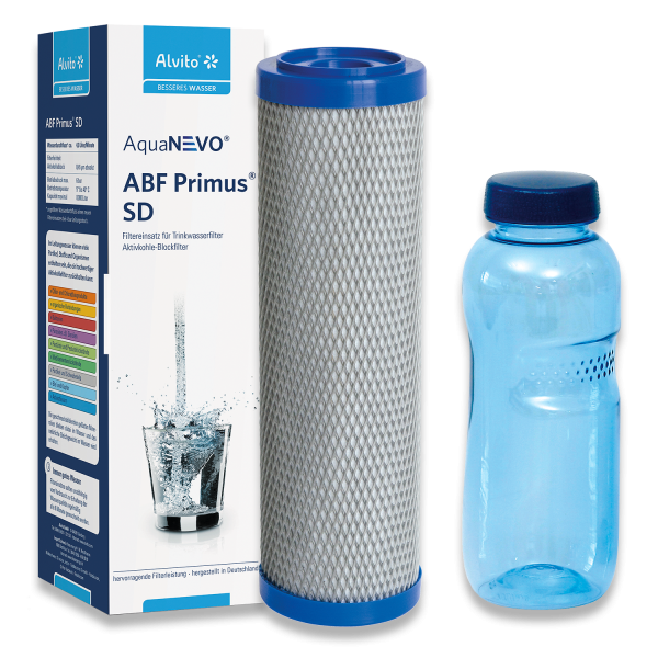 AquaNEVO® ABF Primus® SD Filtereinsatz + gratis Trinkflasche (n)