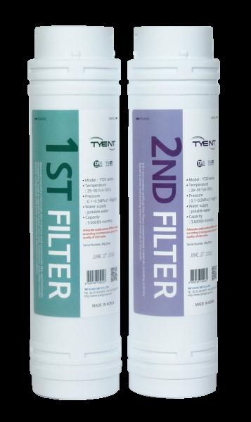 Filterset für NMP und YT-Ionisatoren + gratis Trinkflasche 0,75 L aus Tritan™