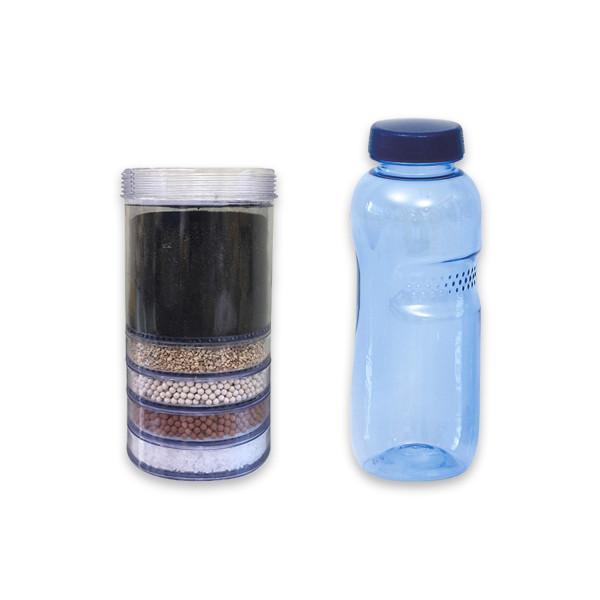 YVE-BIO® 5-step Origin Kartusche, Ersatzkartusche + Trinkflasche(n)